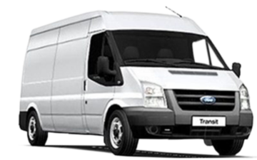 Book now Ford Transit LWB