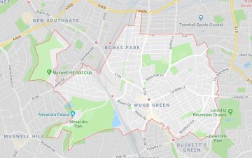 N22 - Wood Green, Alexandra Palace